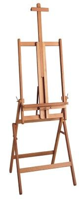 MABEF M/33 Studio Easel, Oiled Beech wood, Convertible base