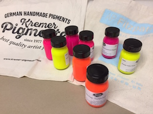 Kremer Fluorescent Colour Pastes