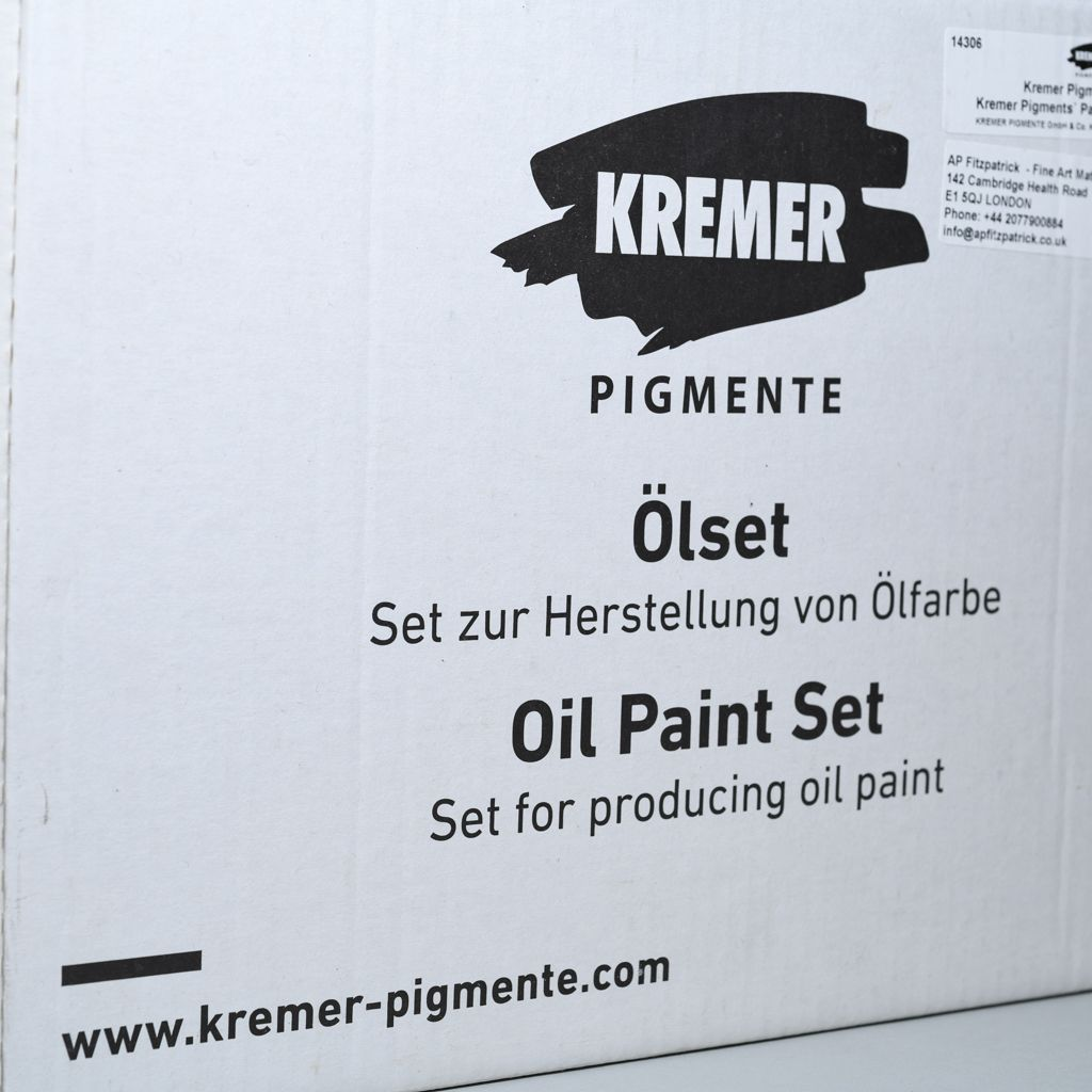 14306 Kremer Pigments' Paint-Making Set, Oil