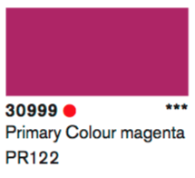Lascaux Gouache 30999 Primary Colour Magenta 500ml