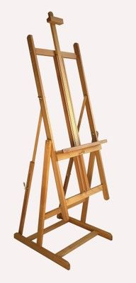 MABEF M/08 Studio Easel, Oiled Beech wood, Convertible base