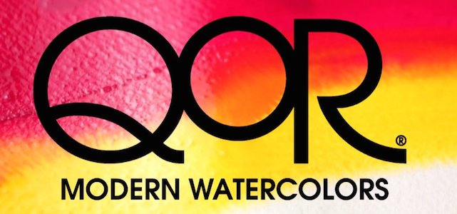 QoR Modern watercolour logo